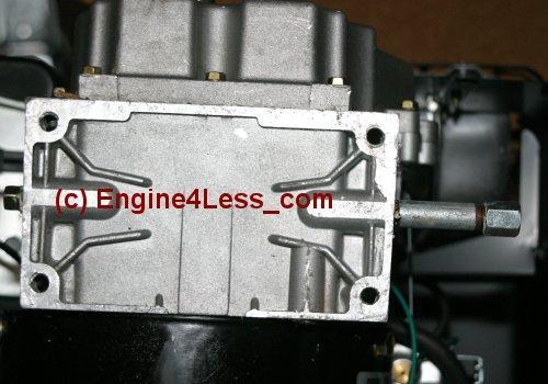 TECUMSEH OHSK80-221814 horizontal crankshaft engine